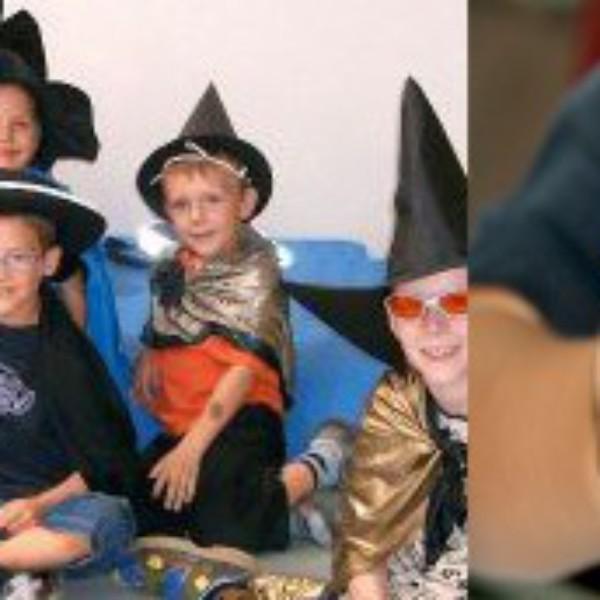 Zaubern mit Kindern Zauberer basteln
